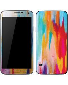 Multicolor Brush Stroke Galaxy S5 Skin