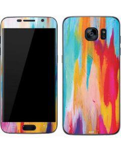 Multicolor Brush Stroke Galaxy S7 Skin