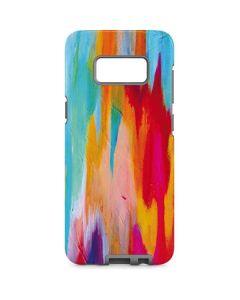 Multicolor Brush Stroke Galaxy S8 Pro Case