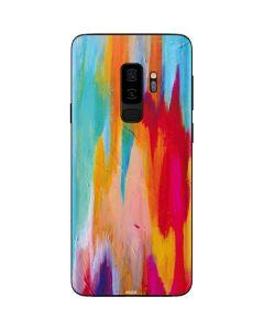 Multicolor Brush Stroke Galaxy S9 Plus Skin