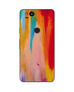 Multicolor Brush Stroke Google Pixel 2 Skin