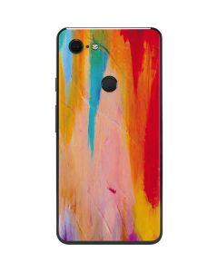 Multicolor Brush Stroke Google Pixel 3 XL Skin