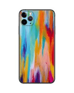 Multicolor Brush Stroke iPhone 11 Pro Max Skin