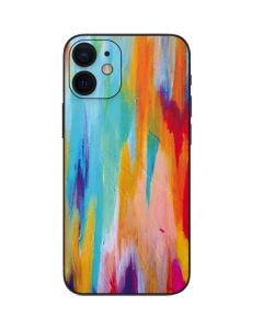 Multicolor Brush Stroke iPhone 12 Mini Skin