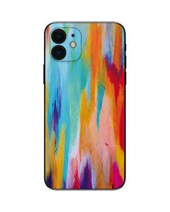 Multicolor Brush Stroke iPhone 12 Skin