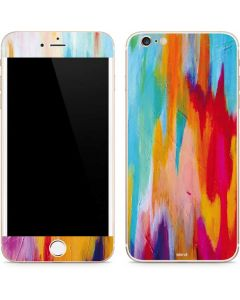 Multicolor Brush Stroke iPhone 6/6s Plus Skin