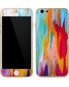 Multicolor Brush Stroke iPhone 6/6s Skin