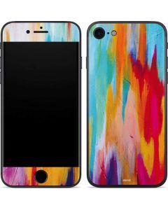 Multicolor Brush Stroke iPhone SE Skin