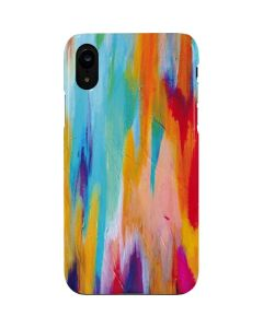 Multicolor Brush Stroke iPhone XR Lite Case