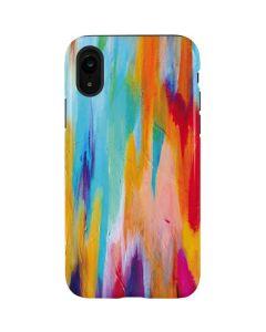 Multicolor Brush Stroke iPhone XR Pro Case