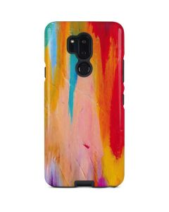 Multicolor Brush Stroke LG G7 ThinQ Pro Case