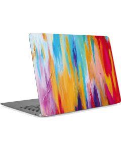 Multicolor Brush Stroke Apple MacBook Air Skin
