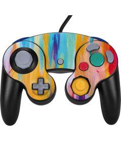 Multicolor Brush Stroke Nintendo GameCube Controller Skin