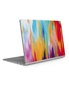 Multicolor Brush Stroke Surface Book 2 15in Skin