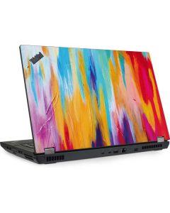 Multicolor Brush Stroke Lenovo ThinkPad Skin