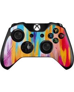 Multicolor Brush Stroke Xbox One Controller Skin