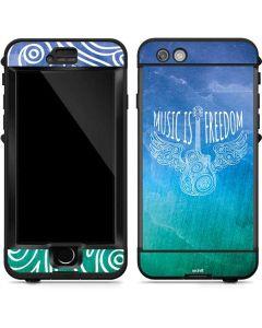 Music Is Freedom LifeProof Nuud iPhone Skin