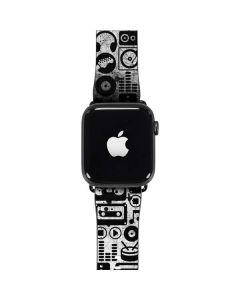 Music Pattern Apple Watch Band 42-44mm