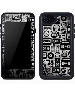 Music Pattern iPhone 7 Waterproof Case
