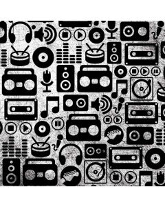 Music Pattern Generic Laptop Skin