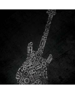 Guitar Pattern PS4 Pro/Slim Controller Skin