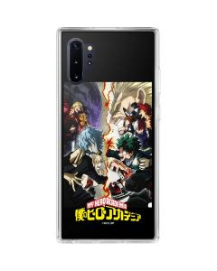 My Hero Academia Battle Galaxy Note 10 Plus Clear Case