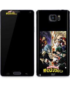 My Hero Academia Battle Galaxy Note5 Skin