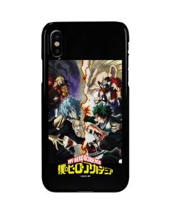 My Hero Academia Battle iPhone XS Max Lite Case