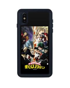 My Hero Academia Battle iPhone XS Max Waterproof Case