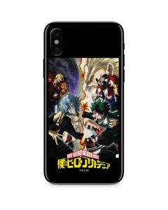 My Hero Academia Battle iPhone XS Skin