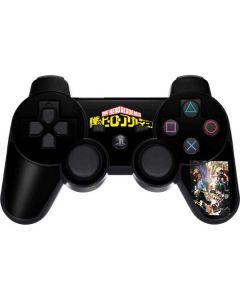 My Hero Academia Battle PS3 Dual Shock wireless controller Skin