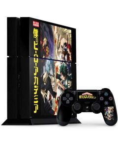 My Hero Academia Battle PS4 Console and Controller Bundle Skin
