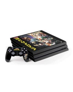 My Hero Academia Battle PS4 Pro Bundle Skin