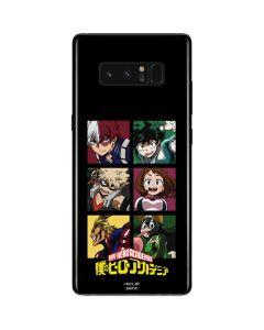 My Hero Academia Group Galaxy Note 8 Skin