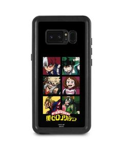 My Hero Academia Group Galaxy Note 8 Waterproof Case