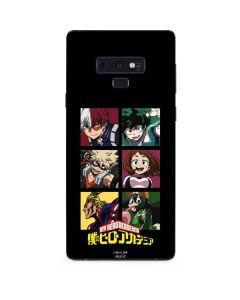 My Hero Academia Group Galaxy Note 9 Skin