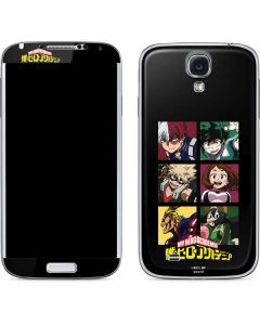 My Hero Academia Group Galaxy S4 Skin
