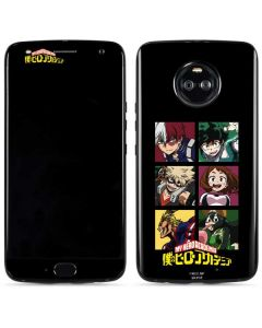 My Hero Academia Group Moto X4 Skin