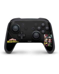 My Hero Academia Group Nintendo Switch Pro Controller Skin