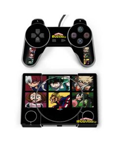 My Hero Academia Group PlayStation Classic Bundle Skin