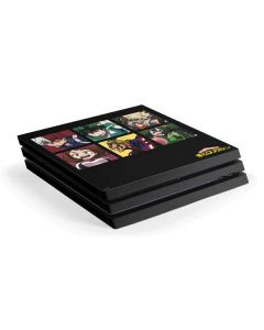 My Hero Academia Group PS4 Pro Console Skin