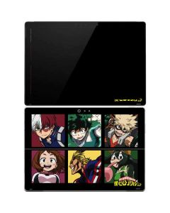 My Hero Academia Group Surface Pro 4 Skin