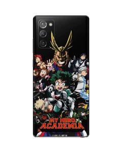 My Hero Academia Main Poster Galaxy Note20 5G Skin