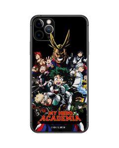 My Hero Academia Main Poster iPhone 11 Pro Max Skin