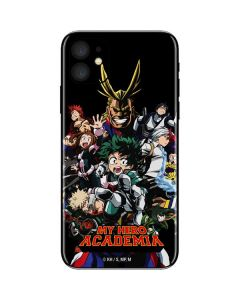 My Hero Academia Main Poster iPhone 11 Skin