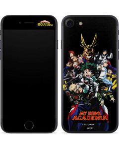 My Hero Academia Main Poster iPhone SE Skin
