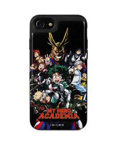 My Hero Academia Main Poster iPhone SE Wallet Case