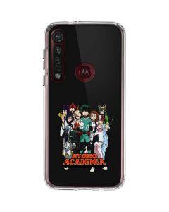 My Hero Academia Moto G8 Plus Clear Case