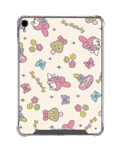 My Melody Pattern iPad Pro 11in (2018-19) Clear Case