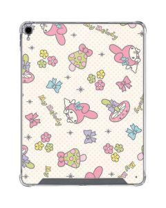 My Melody Pattern iPad Pro 12.9in (2018-19) Clear Case